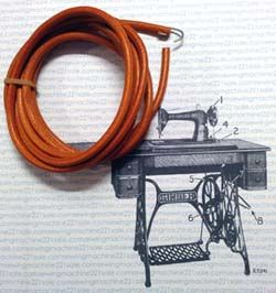 How to replace a treadle belt