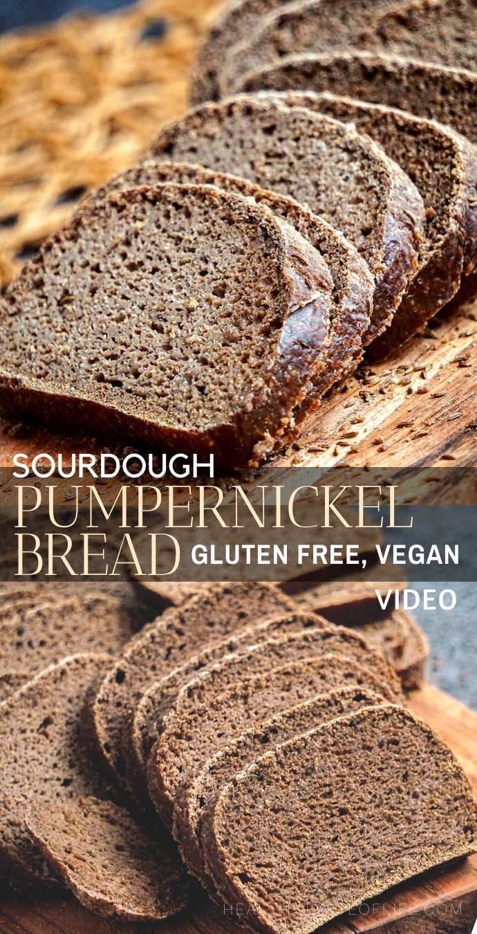 Gluten Free Sourdough Pumpernickel Bread Recipe Recipe In 2020 Gluten Free Sourdough Bread Gluten Free Sourdough Pumpernickel Bread Recipe