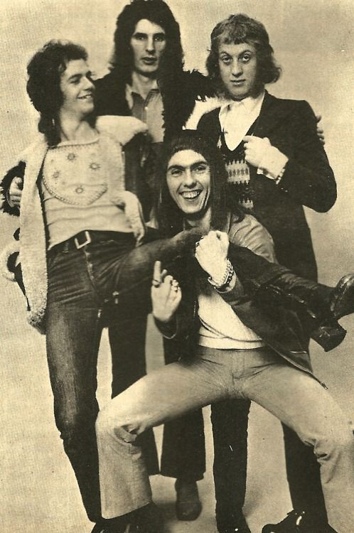 Slade!!! I loved them and still do! ~ Slade ~ great 70's glam rock band!!