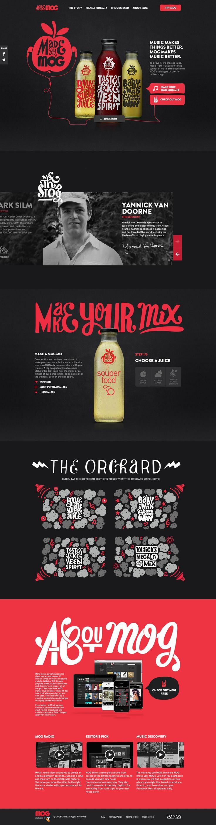 Cool Web Design, Made By Mog. #webdesign #webdevelopment [http://www.pinterest.com/alfredchong/]