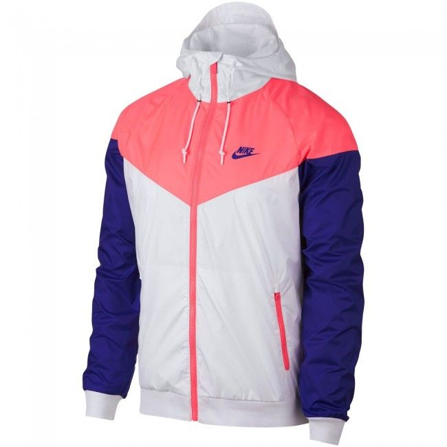 Nike Windrunner Jacket - Pink/White
