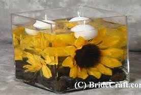 diy sunflower wedding centerpieces - Bing Images