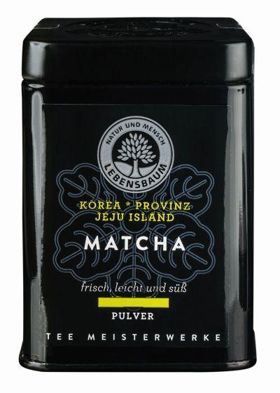 Herbata zielona Matcha w proszku Bio, 30 g - Lebensbaum