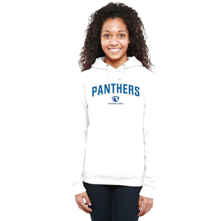 Eastern Illinois Panthers Women's Proud Mascot Pullover Hoodie - White - $64.99