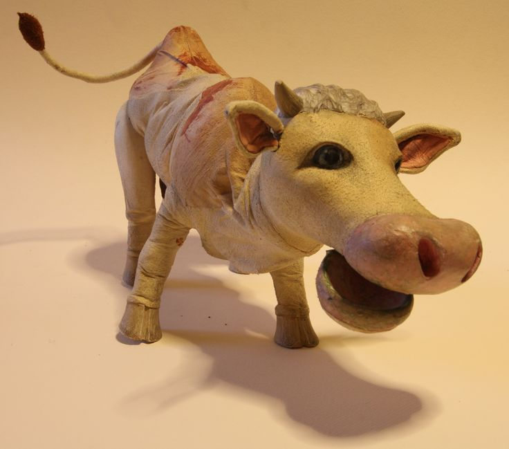"Loutka ""Kráva"""