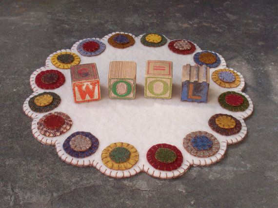 Scrappy Penny Candle Mat