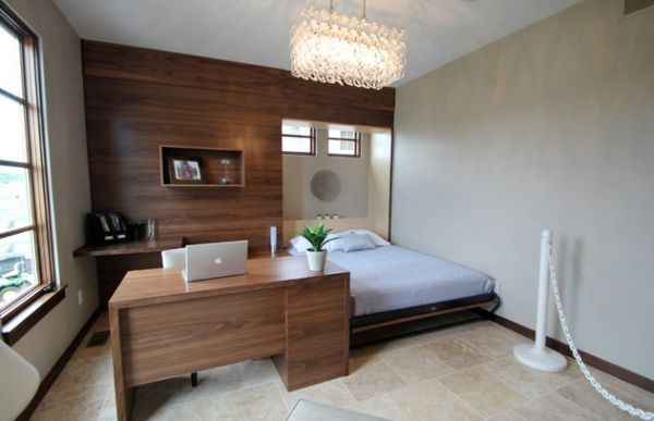 Murphy bed design ideas smart solutions for small spaces for Murphy beds for small spaces