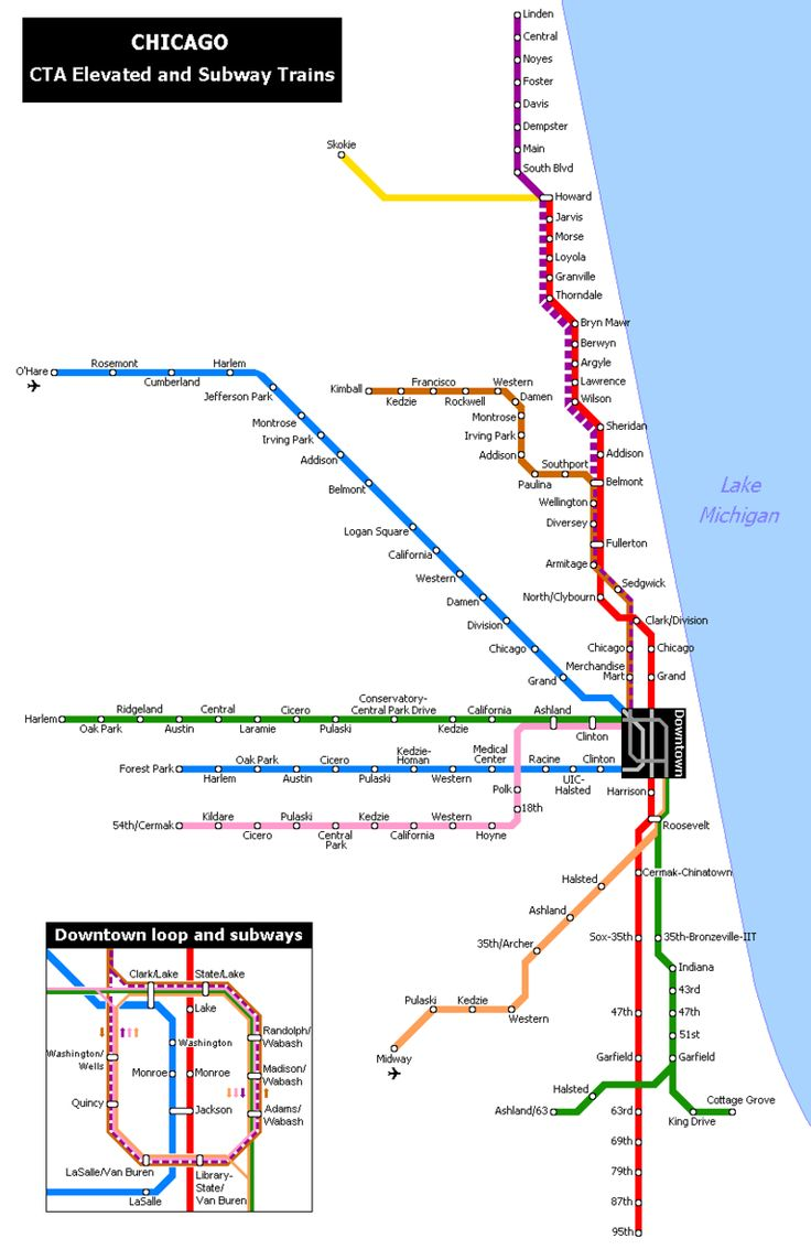 Best Trains From Around World And Different Places Images On - Chicago map of trains