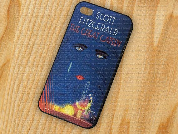 The Great Gatsby Cover Book iPhone 5 iPhone 4  4S by DepotSukses, $14.79