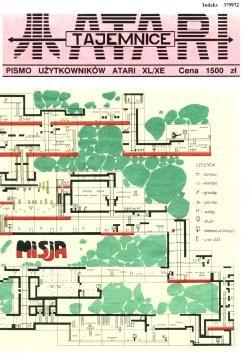 Tajemnice Atari - nieoficjalne elektroniczne archiwum - TA 1/91