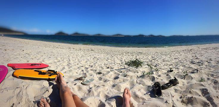 Holidays at Jimmys Beach. Port Stephens.