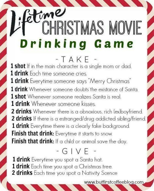 Fun Drinking Movie Games Elf The Movie