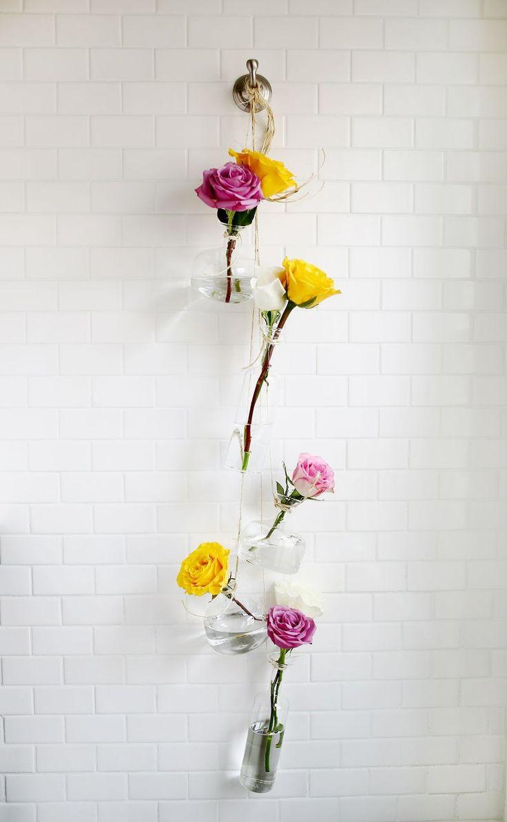 Vasinhos foférrimos para enfeitar a casa ou o quarto das pequenas! #decor #diy #flowervase