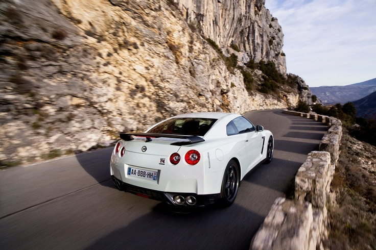 "Nissan GTR, It's given the nickname ""Godzilla"" for a reason. This turbo charged AWD beast competes with Ferrari's, Lambo's and even most Street Bikes."
