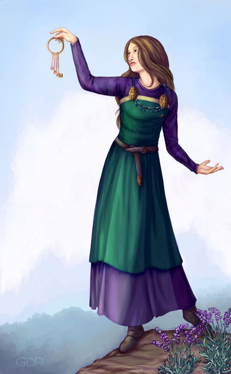 LOFN is a Norse goddess of freedom and permission. She is a comforting goddess, and is the handmaiden responsible for arranging even forbidden marriages. http://gpalmer.deviantart.com/art/Lofn-443153389