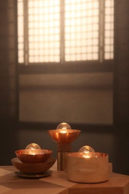 Candil lamp Kyoto, Milan and Madrid.  Recalling the pleasant and intimate atmosphere of the candlelight.