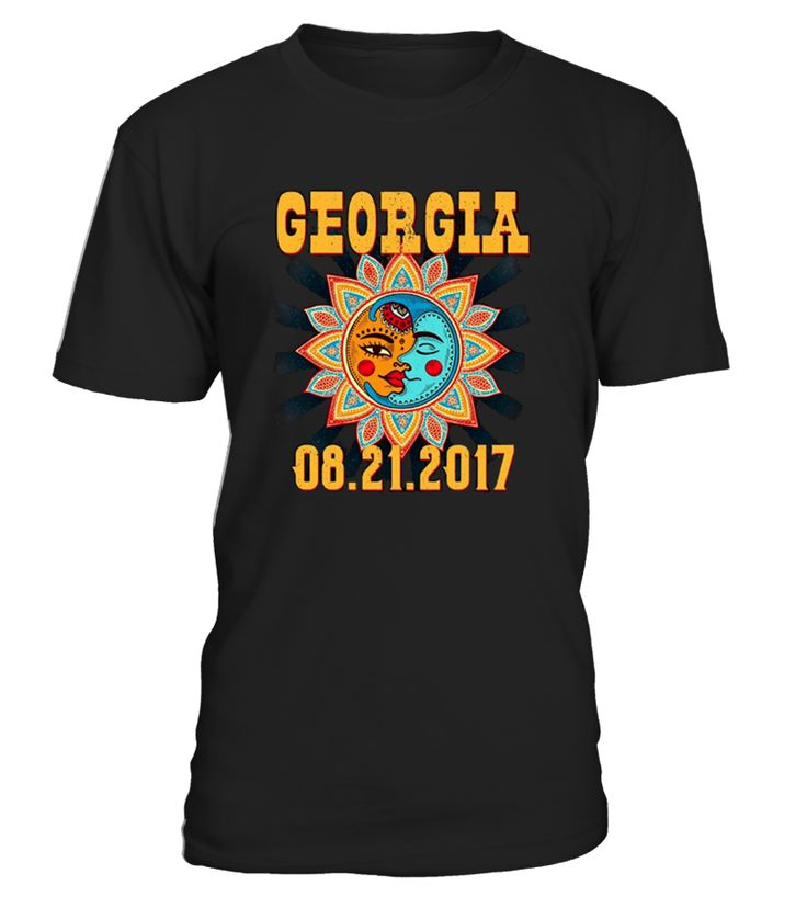 This Sunburst Graphic TShirt is the perfect gift to commemorate the upcoming August 21 2017 Total Solar Eclipse. Get your Solar Eclipse glasses out and celebrate with this tee shirt made just for Georgia!   Grab a Sunburst Total Solar Eclipse shirt if you plan on being in the path of totality. This shirt is perfect for Kids as well as adult men and women who loves Astronomy, watching the Sun and the Moon, or just space in general.
