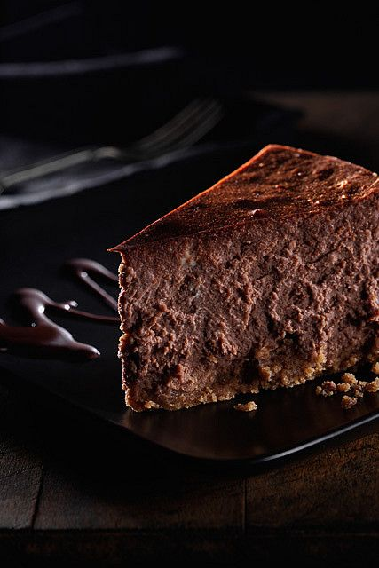 chocolate cheesecake - photo by Darby Sawchuk on Flickr