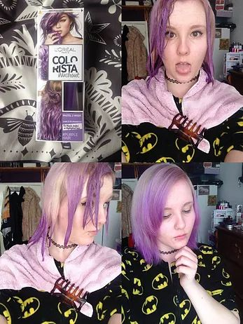 Nyxie Rose | Loreal Colorista Purple Review