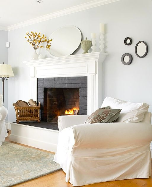 Raised Hearth Fireplace Designs: 1000+ Ideas About Cottage Fireplace On Pinterest