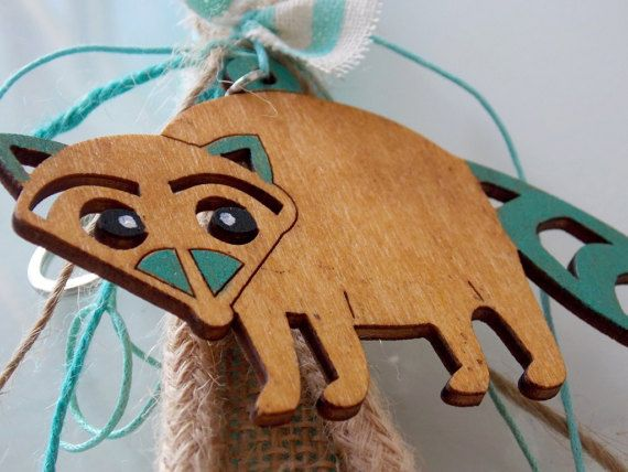 139 best easter images on pinterest easter crafts easter ideas raccoon easter candle boho easter gift greek by anastasiasatelier negle Gallery