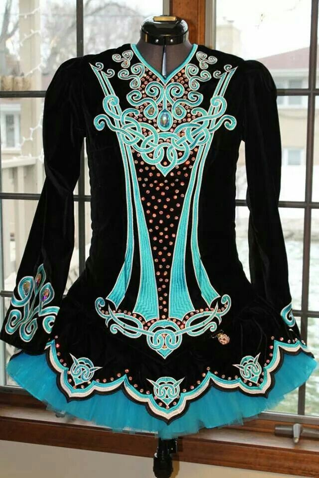 IDentify You Irish Dance Solo Dress Costume