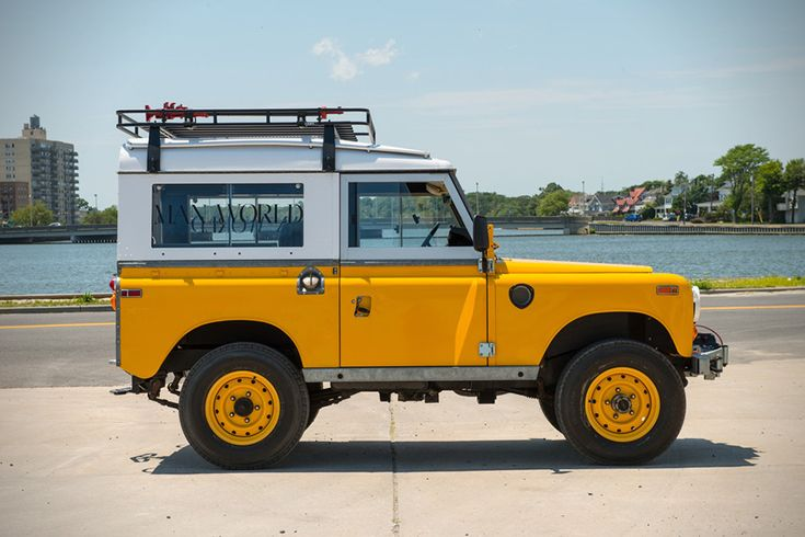 This 1972 Land Rover 88 Series III Is The Ultimate Adventure Mobile