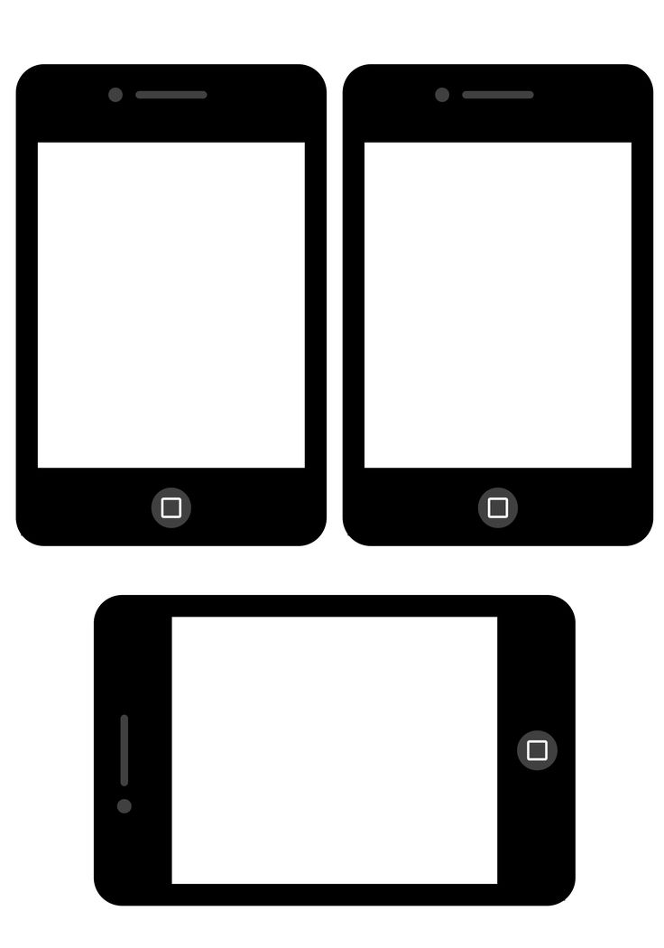 Free iPhone Frames Printable from scrappystickyinkymess