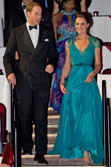 Prince William & Kate Middleton attend the Our Greatest Team Rises gala