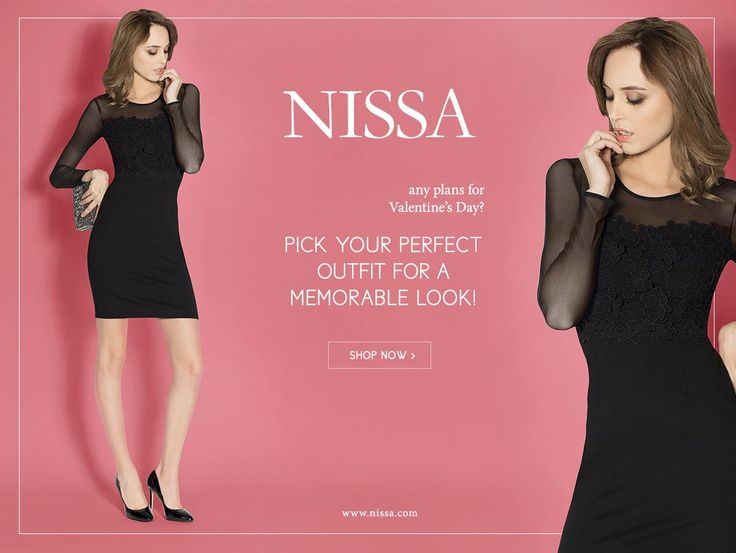www.nissa.com  #nissa #valentinesday #valentine #celebration #look #style #stylish #black #dress #fashion #fashionista #love #romance #pink #rochie #tinuta