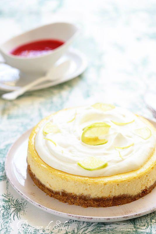 Un dejeuner de soleil: Cheesecake au citron