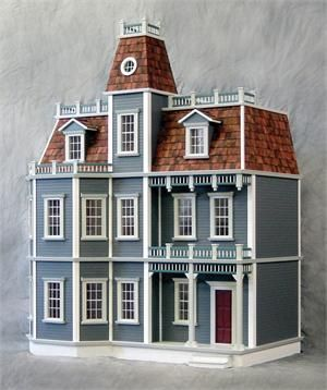 Newport Dollhouse Kit - my mom bought me this kit over 10years ago. I've been too scared to put it together.