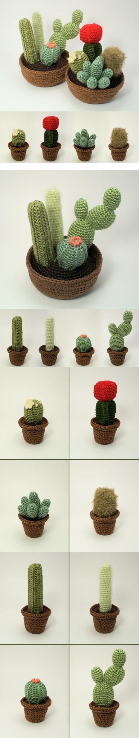 http://www.planetjune.com/blog/cactus-collection-crochet-patterns/ Hermosos Cactus!!!