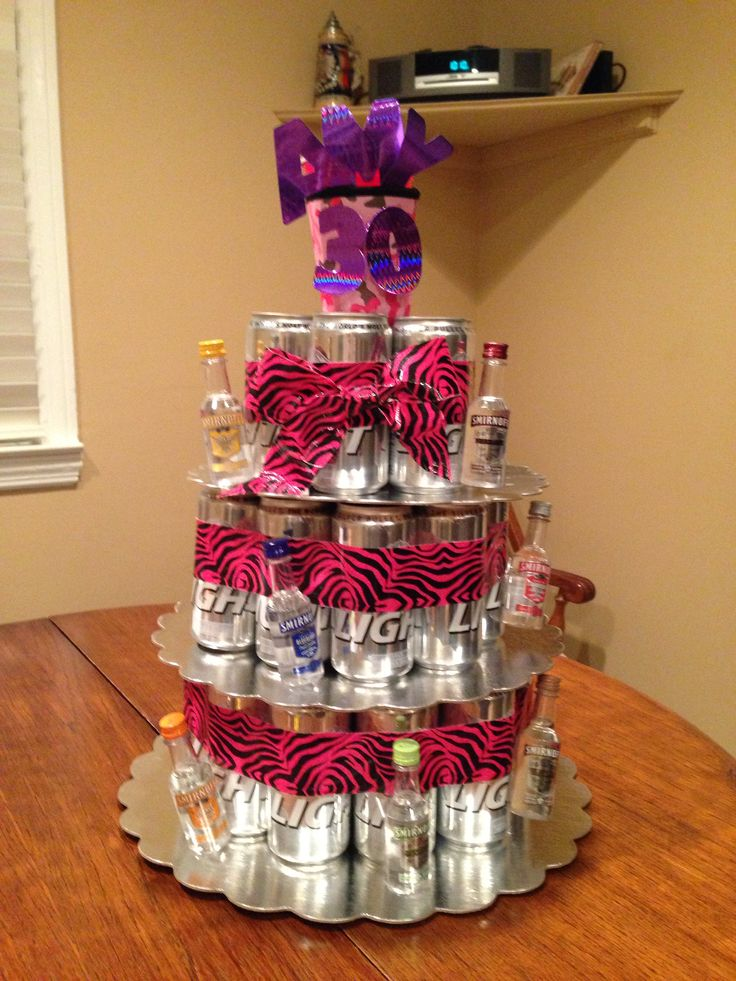My Friends Dirty Thirty Beer Can Cake Years Old Requires
