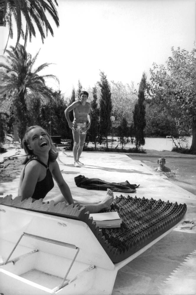 Romy schneider alain delon la piscine de jacques deray for La piscine movie