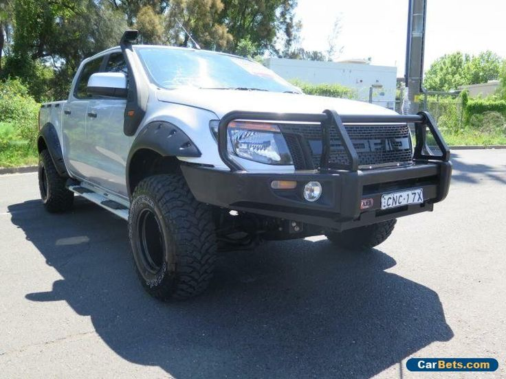 2013 Ford Ranger PX XLS Silver Manual 6sp M 4D UTILITY #ford #ranger #forsale #australia