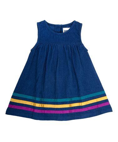 Navy Stripe Organic Jumper - Infant & Toddler #zulily #zulilyfinds