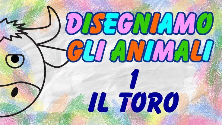Disegniamo Gli Animali - Il Toro - La Televisione Dei Bambini