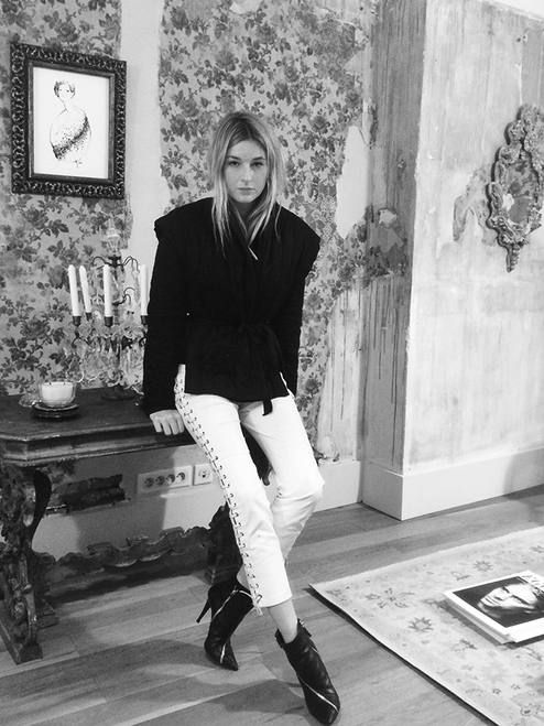 White Lace Up Leather Pants # #Camille Over The Rainbow #Winter Trends #Fashionistas #Best Of Fall Apparel #Pants Leather #Leather Pants #Leather Pants White #Leather Pants Lace Up #Leather Pants Clothing #Leather Pants 2014 #Leather Pants Outfits #Leather Pants How To Style