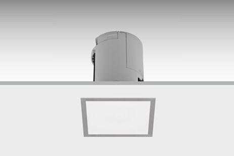 Lens flush-mounted square / Lens enrasado cuadrado / Lens bündig eingebaut Quadratisch