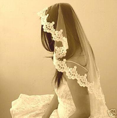 Traditional wedding veil