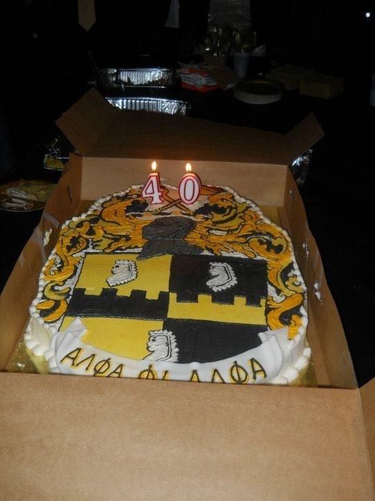Alpha Birthday Cake Alpha Phi Alpha Fraternity Inc