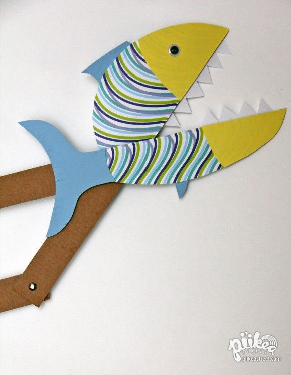Chomping Fish Toy
