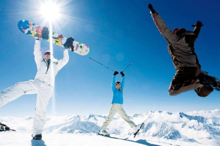 Snowboard, Skis, Jump wallpapers