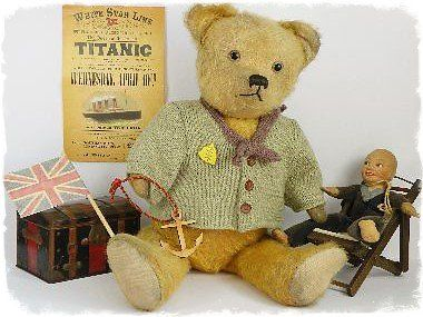 <B>ANTIQUE & VINTAGE TEDDY BEARS 1</B>. frenchbear3