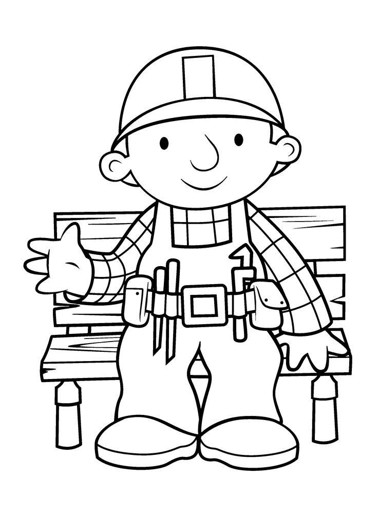 bob coloring pages - photo#28