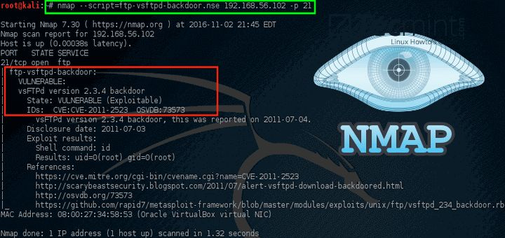 A Practical Guide to Nmap (Network Security Scanner) in Kali Linux