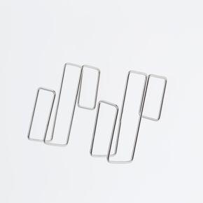 【カインズ148円】ステンレス製シンク下扉に掛けられるフック 2個入