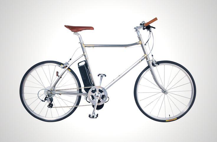 ハンドメイドのクロモリフレームに上質なパーツ。革命的電動アシスト自転車、 ヒルチーター登場