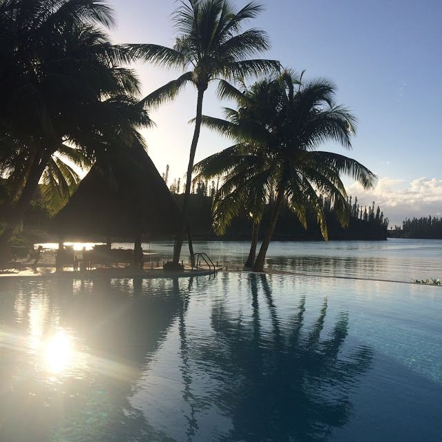 Alessandra Zecchini: Ile des pins and a vegetarian in New Caledonia